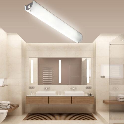 Design LED Spiegel Wand Lampe Chrom schaltbar Decken Leuchte Glas Bad Big Light
