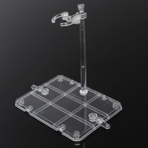 Action Base Display Stand Support Clear PVC For 1//144 HG//RG Gundam//Figure Rack