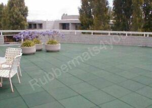 Image Is Loading Roof Safe Rubber Safety Tiles Mats Garden Patio