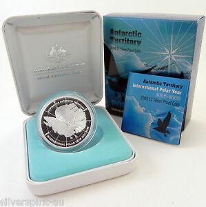 2007-2008-5-POLAR-SERIES-SKUA-Silver-Proof-Coin