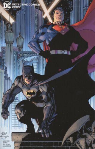DETECTIVE COMICS #1027 COVER F JIM LEE BATMAN SUPERMAN VARIANT VF//NM 2020 DC HOH
