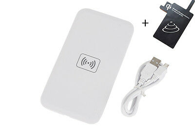 Wireless Qi Charger Charging Pad/Receiver/Kit For Samsung Galaxy Note4 N9100 New