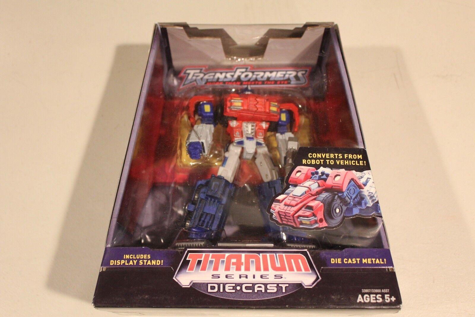 Hasbro Titanium Series Die-cast Transformers Optimus Prime