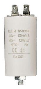 //-5/% 450V A COSSES NORME EN60252-1 CONDENSATEUR POUR MOTEUR ELECTRIQUE 25μF uF
