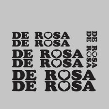 8x De Rosa Bike/Cycling/Cycle/Push Bike Frame Stickers Decals Kit