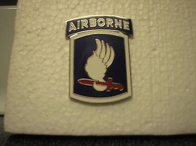 REPLICA U. S. ARMY 173rd AIRBORNE BRIGADE COMBAT SERVICE ID BADGE