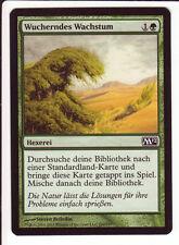 4x Rampant Growth / Wucherndes Wachstum (10th/M10/M12) Land search