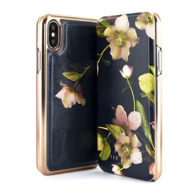 wholesale dealer 7763c 0035e Ted Baker Arboretum Mirror Folio Case for iPhone XS Max