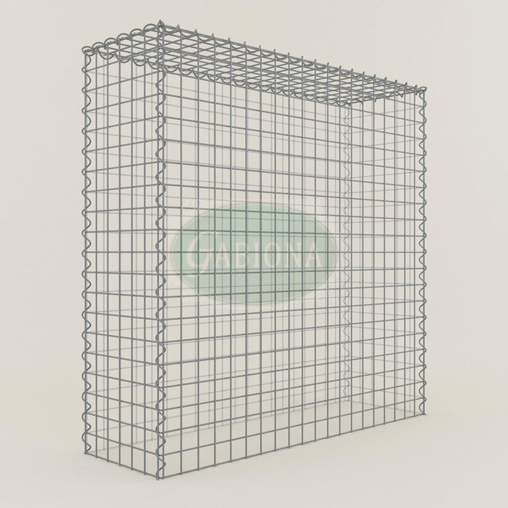 Cultivo-gabione typ3 cesta de piedra 100 x 100 x 30 cm, anchura de malla 5 x 5 CM, Gabionen