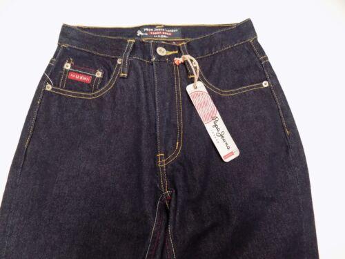 Nos 25x34 Vtg Lavage Étiquette 13537 Nwt Imprimé 9903 Blue Jeans Pepe Foncé Animal Junior 4xBwPqZ