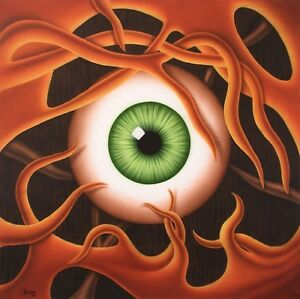 Jannys-ART-Auge-Kunst-Malerei-handgemalt-Acryl-Bild-Leinwand-Geschenk