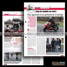 #jbt76.003 ★ PILOTAGE : STAGE DE CONDUITE SUR ROUTE ★ Fiche Moto Motorcycle Card