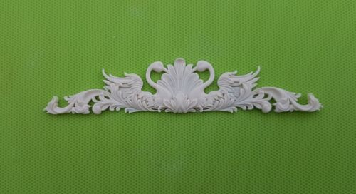 Decorative resin mouldings furniture applique shabby chic onlay scrolls