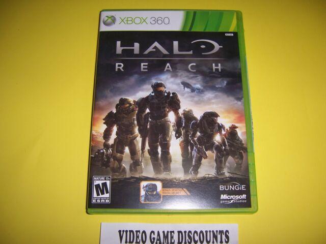 Original Box Case for Microsoft Xbox 360 Halo Reach
