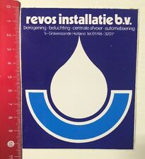 Aufkleber/Sticker: Revos Installatie B.V. (04061698)