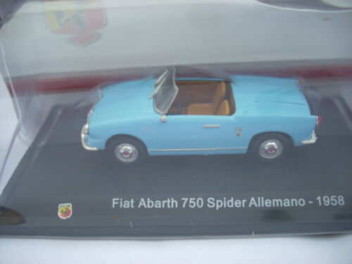 FIAT ABARTH 750 SPIDER ALLEMANO 1958  SCALA 1\43