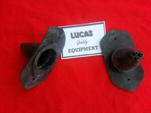 Pair Rear Tail Light Rubber BOOTS Lucas L471 Austin A40 Morris Minor Oxford MO
