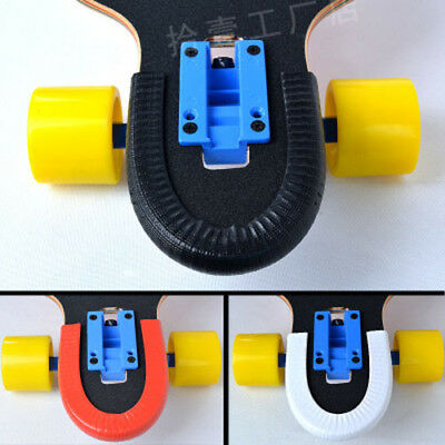 2pcs Skateboard Longboard Nose Tail Guard Deck Anticollision Protection Cover