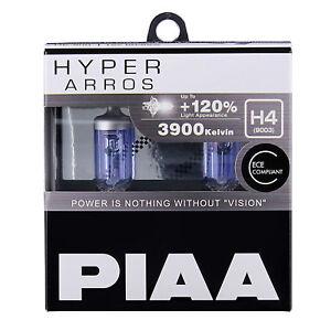 NOUVEAU-HE-900-PIAA-H4-Hyper-Arros-3900K-revalorise-Ampoules-Phare-120-plus-lumineux