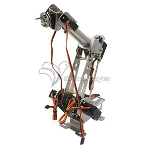6 Axis Mechanical Robotic Arm Clamp with Servos DIY Kit for