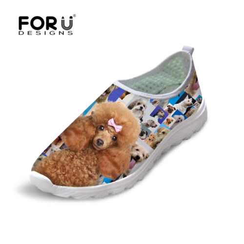 New Fashion Animal Pet Men/'s Casual Slip On Shoes Breathable Mesh Running Shoes