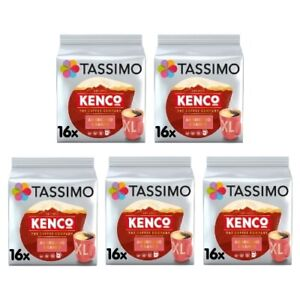 Tassimo Kenco Americano Grande Pack of 5 (Total of 80 Coffee Pods)