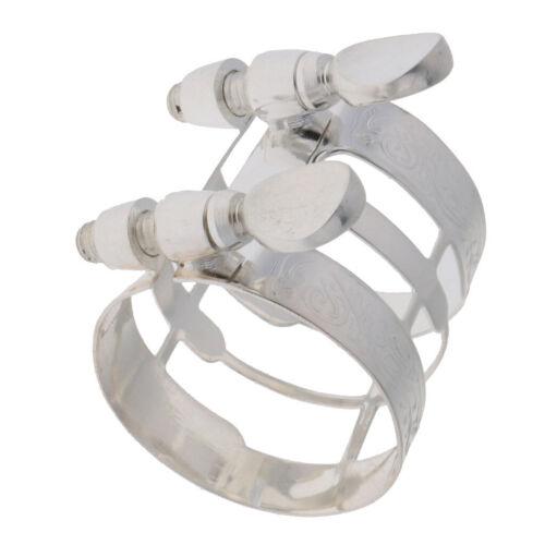 1 stück altsaxophon mundstück ligatur clip für wind holzblasinstrumente