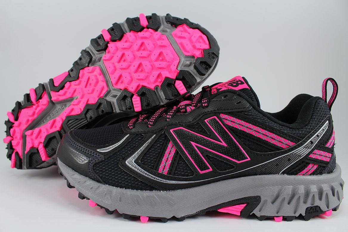 New balance 410 Ancho Negro rosado gris Plata Plata Plata WT410LB5 Trail Running Senderismo Mujer  ahorra hasta un 50%
