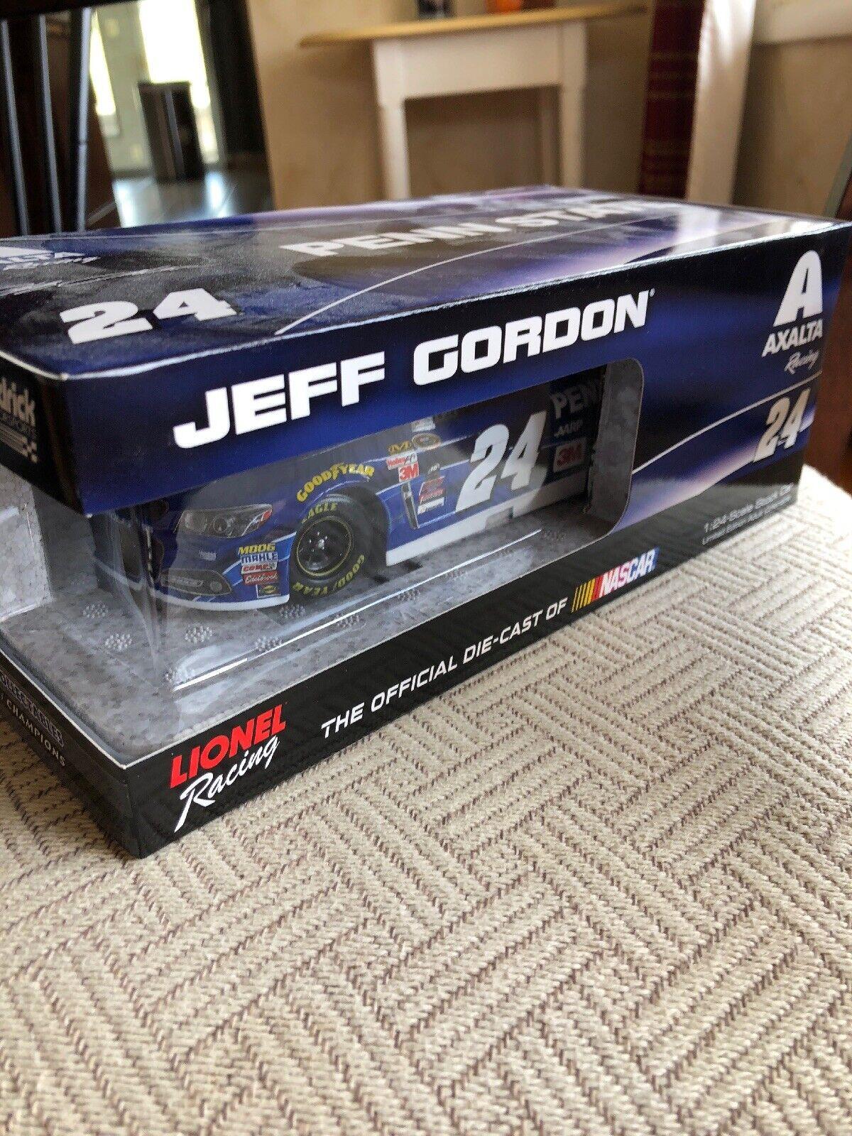 Jeff Gordon 2015 Axalta Penn State University 1 24 Nascar Diecast Brand New