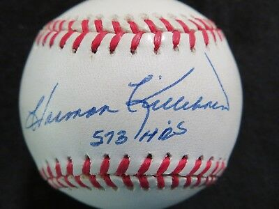 Harmon Killebrew Inscribed 573 Hr's Roalb Bobby Brown Hof Jsa Twins Vintage Sports Mem, Cards & Fan Shop Balls