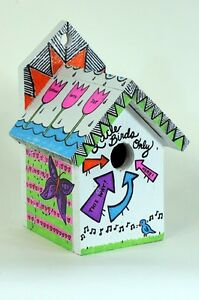 Free-The-Birds-Birdhouse-Designed-Painted-and-Signed-by-Paramore