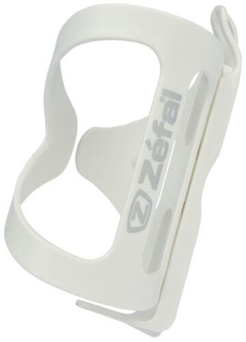 White Zefal WIIZ Custom Side-Pull Bottle Cage