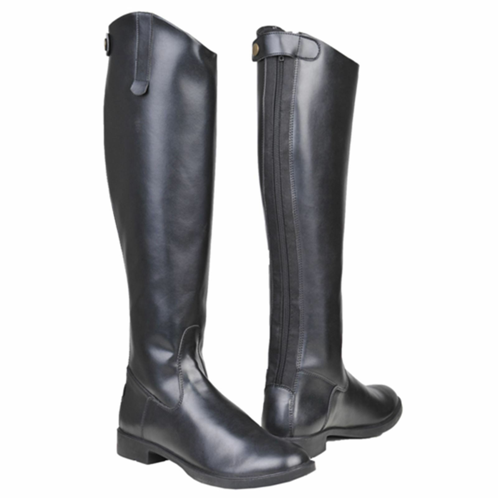 HKM Ladies Junior New General Flexible Sole Synthetic Leather  Horse Riding Boots  up to 50% off