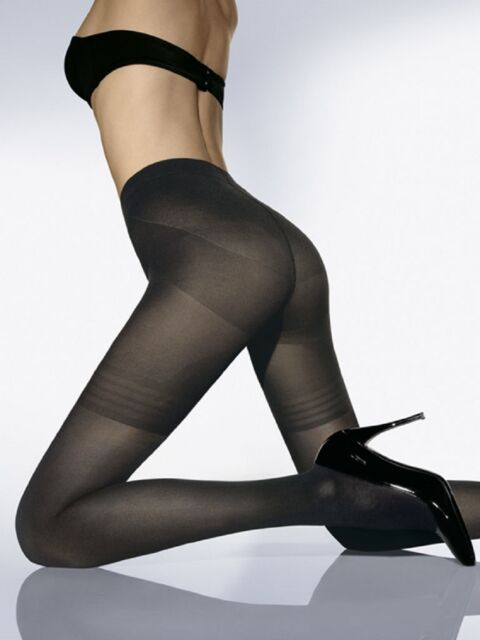 1dde5200a5 Wolford Power Shape 50 Control Top Tights Black Small