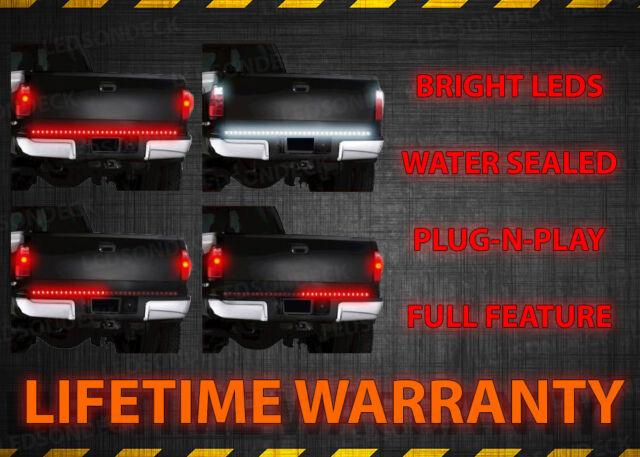 """48"""" LED Brake/Reverse/Turn Signal Tailgate Tail Light For All Trucks Suvs Vans"""