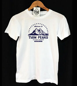 TWIN PEAKS T-SHIRT  - BLACK LODGE - DALE COOPER - 90 TV - UNISEX - PEAK CLOTHING