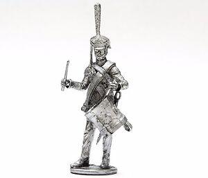 Napoleonic-Wars-tin-54mm-N01-Russia-Drummer-of-Hussar-regiment-1812-year