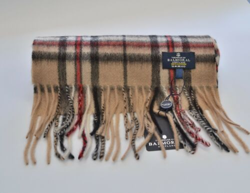 New Scottish 100/% Cashmere Tartan Check Scarf Womens Mens The House of BALMORAL