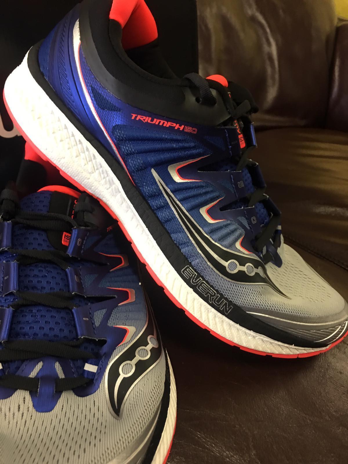 2006b71c13c Saucony Triumph ISO4 Sample Sample Sample Sliver bluee VizRed Running  shoes s Men s US 9 (E