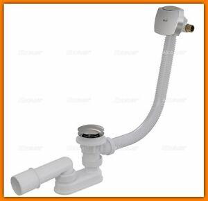 AlcaPLAST-Bath-click-clack-waste-Ablaufgarnitur-fur-Badewannen-Ablauf-Siphon