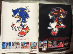 Sonic-Adventure-2-Battle-Poster-Ad-Print-Dreamcast