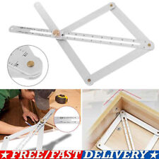 Stainless Steel Corner Angle Finder Ceiling Artifact Tool Square Protractor SALE