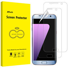 JETech Screen Protector for Samsung Galaxy S7 Edge TPU HD Film 2-pack