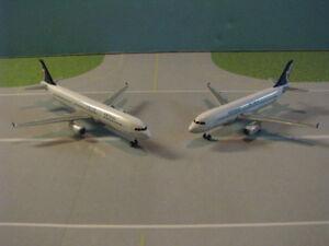 DRAGON-WINGS-SKYCLUB-AIR-MACAU-320-amp-A321-2-PLANE-SET-1-400-SCALE-MODELS