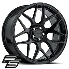MRR FS01 19x10 20x12 Flow Forged Gloss Black Wheels fit C6 Corvette Z06 ZR1
