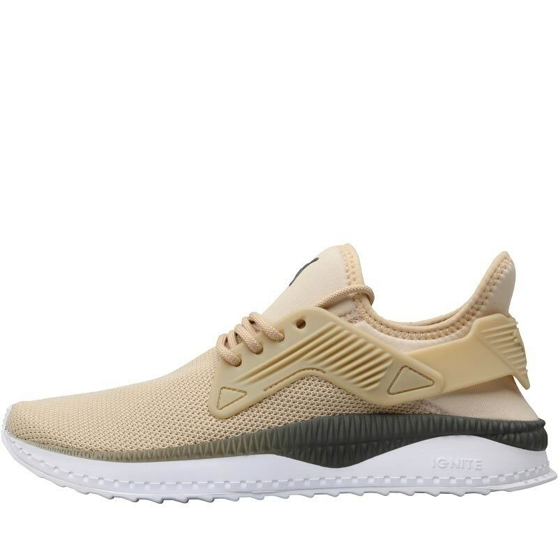 Puma Mens TSUGI Cage Summer Trainers Pebble Sand Euro 42 CM 27