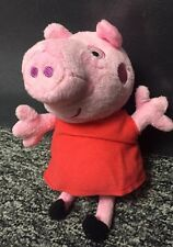 "Kelly Toy Peppa Pig 7"" Plush stuffed animal Toy NWT (A198-P)"