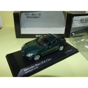 MERCEDES-SLK-Cabriolet-R171-2004-Vert-MINICHAMPS-1-43