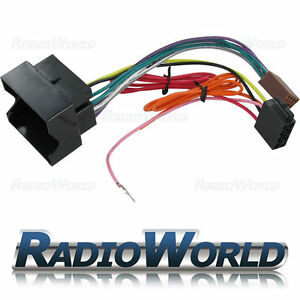 vauxhall quadlock car stereo radio iso wiring harness connector image is loading vauxhall quadlock car stereo radio iso wiring harness