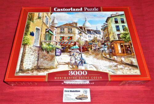 Montmartre Sacre Coeur Castorland C-300518-2   92 x 68 cm Puzzle 3000 Teile